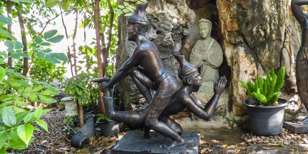 El histórico proyecto de revivir el masaje tailandés en Tailandia